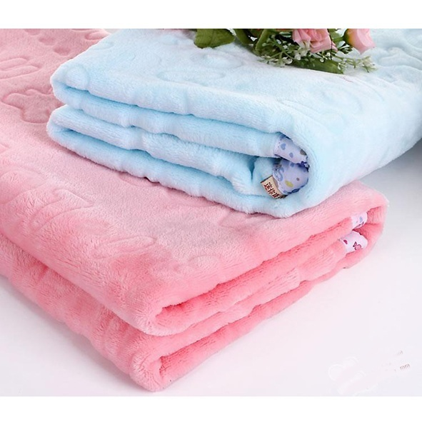 Розничная Новорожденный ребенок летом пеленание Малыша мягкий коралл руно одеяло ...
