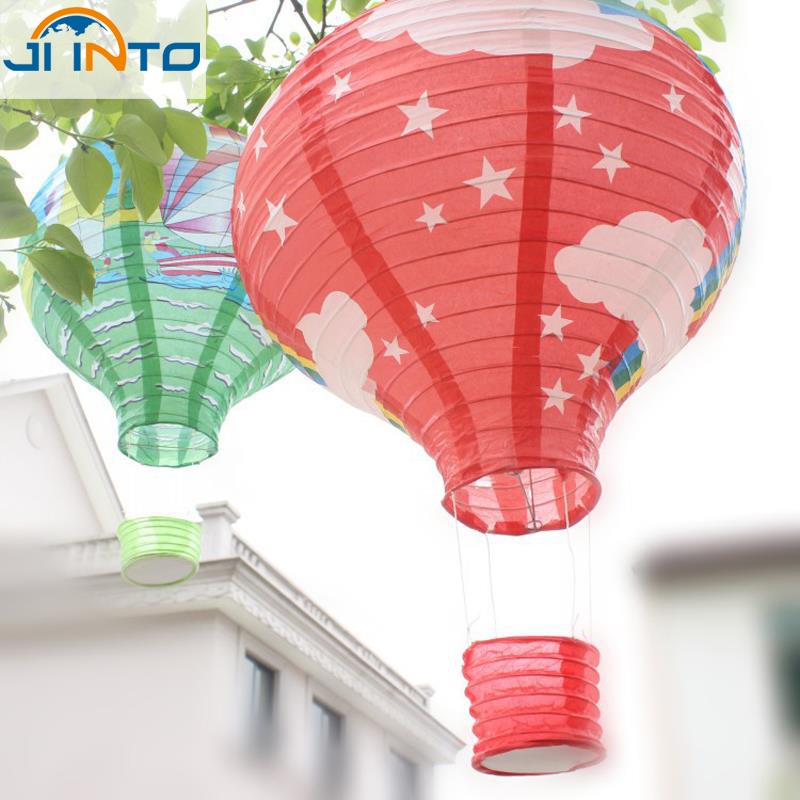 7Pcs 30cm multicolor Paper Chinese wishing lantern hot air balloon Fire Sky lantern for Birthday Wedding Party color(China (Mainland))
