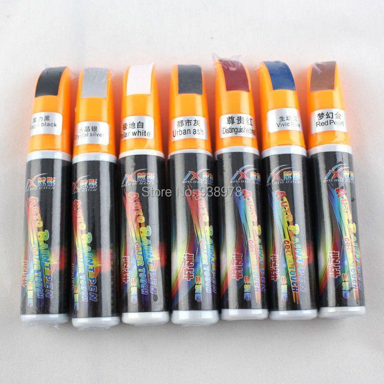 10pcs/lot Free Shipping 12ml Car Up Painting Repair Pen Auto Scratch Repair(China (Mainland))