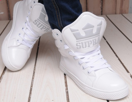 Lovers fashion shoes SUP-RA high skateboarding shoes sneakers for men and womenFree shipping Justin Biber same style