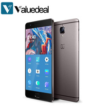 In stock ONEPLUS 3T A3003 International version 5.5inch FHD Android 6.0 OS Snapdragon 821 Smartphone 6GB RAM 64GB ROM phone(China (Mainland))