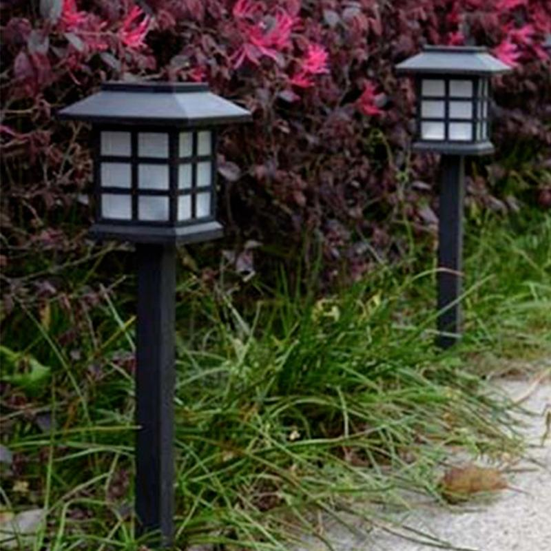 2 pcs Solar Power Lamp LED Light Yard Lawn Light Party Path Outdoor Solar Light Garden