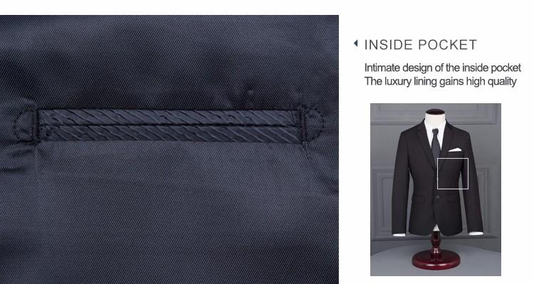 HTB19dM4OVXXXXczapXXq6xXFXXXa - 2017 Men Business Suit Slim fit Classic Male Suits Blazers Luxury Suit Men Two Buttons 2 Pieces(Suit jacket+pants)