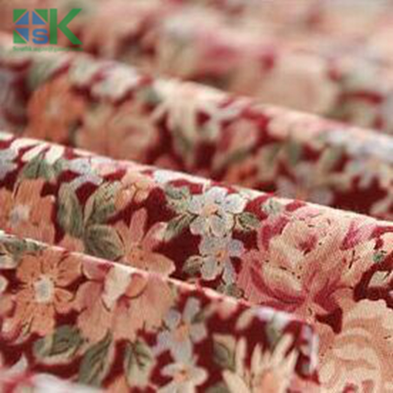 2016 Summer Fashion Cotton Fabric, Fabric, Printed Cotton Fabric with Red Flower Home textileTilda Cloth Patchwork Quilting Tiss(China (Mainland))