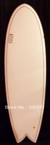 6'2 EPS Fish surfboard Double pinline tri fin