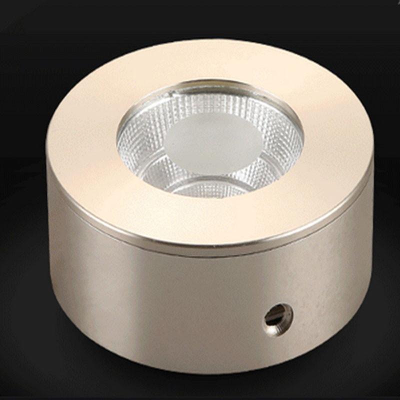 Купить Небольшой СВЕТОДИОД Для Поверхностного Монтажа Вниз свет 7 Вт AC85-265V Высокая яркость светодиодный прожектор потолочный светильник лампа Переднего Зеркала Свет