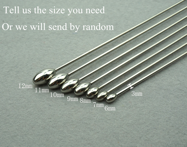 Sex Product Urethral Sound Toys Smooth Stainless Steel Catheter Urethral Plug Sounding Dilator Penis Plug For Men(China (Mainland))