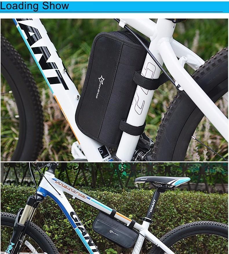 22ROCKBROS Multi-function Bicycle Repair Tool MT Road Bike Rack Portable Tool Bag Cycling Repair Kit Set Hex Wrench Pump Tool Box