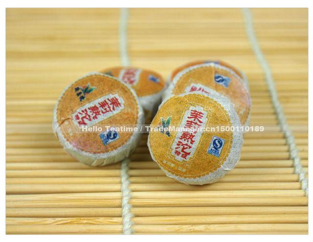 [HT!]250gTop Grade aged jasmine flower flavor Mini Yunnan Pu er(Pu'erh,puer)bowl cake ripe tuo tea shu cha,slimming,health