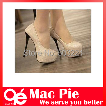Гаджет  Drop Ship Free Shipping Ladies Fashion Sexy Evening high heels Shoes black/silver Colour Party Pumps Shoes None Обувь