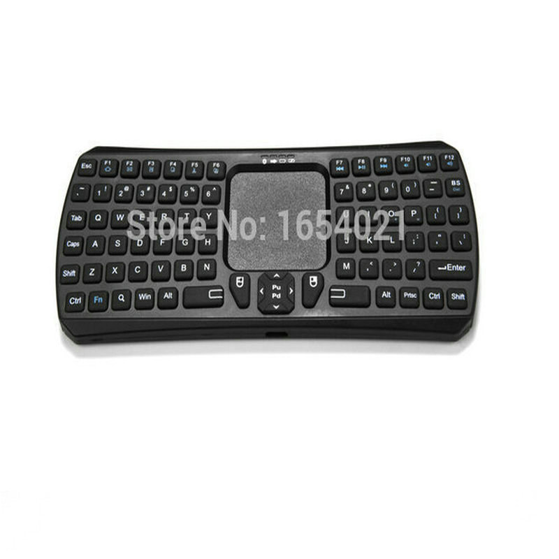 Black Multifunction IBK-26 Bluetooth Mini Touchpad Keyboard Support For Mac OS X/ Android/ Windows System Free Shipping(China (Mainland))