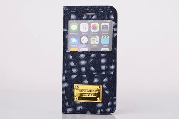 2015 New Brand Luxury MKS Capa I5 I6 6 plus Fashion Slim Leather Cover Stand Phone Cases For iphone 5s i6 i6 plus High Quality(China (Mainland))