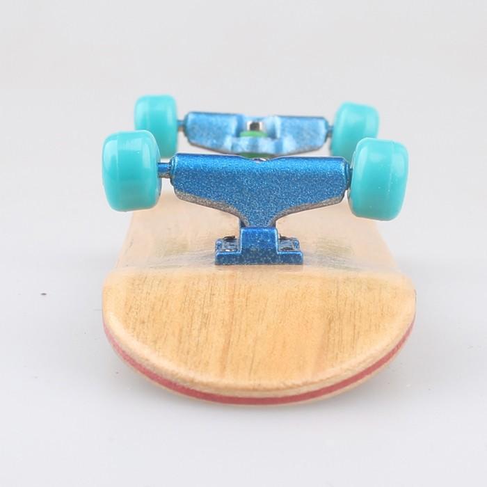 2015 Professional maple Wood Fingerboard bearing wheels top configure Maple wood skateboard Zipper bag packing,FS035(China (Mainland))