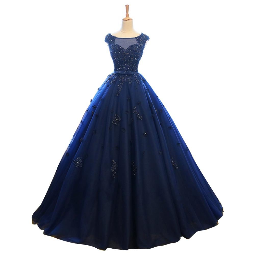 navy wedding dress Chic Navy Blue Maxi Dress Evening Retro Style Wedding Dress Pencil with Belt 60 00