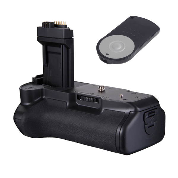 RC-6 Remote Shutter control + PRO Battery Grip for Canon EOS 450D 500D 1000D Rebel XS XSi T1i Camera as BG-E5(China (Mainland))