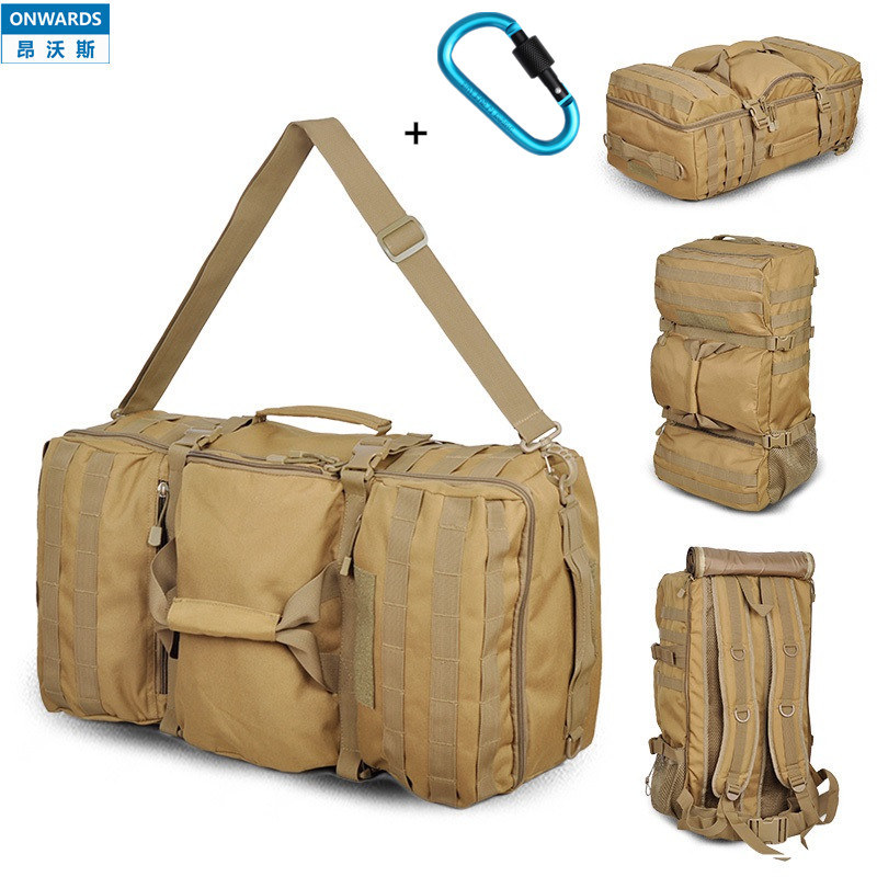 ONWARDS NEW Men s Luggage Bag Outdoor Backpacks 55L Hiking Camping Travel Portable Bags Tactical Big