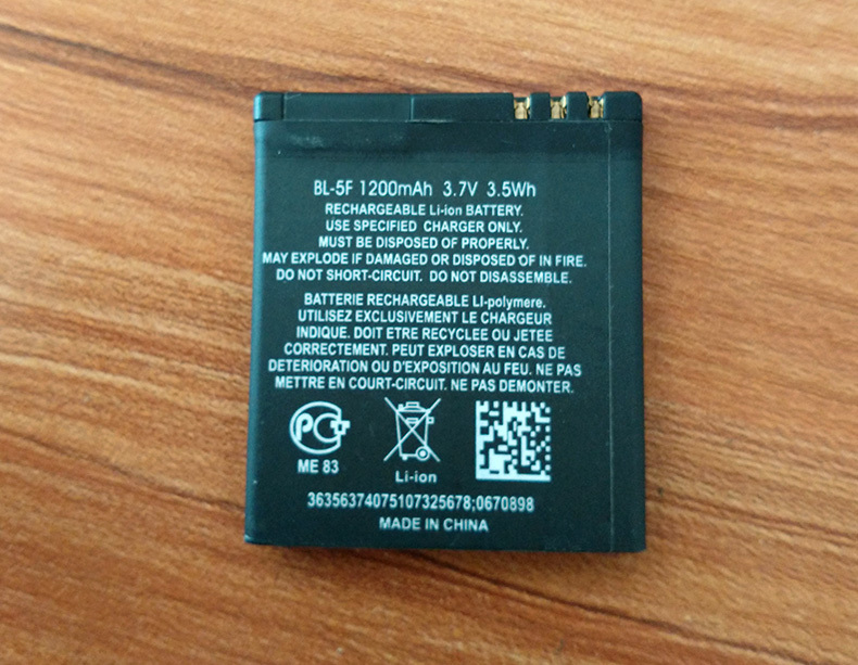 BL 5F bl 5f 950mAh Rechargeable Mobile Battery Bateria for Nokia 6210si 6210n 6210s 6260s 6290
