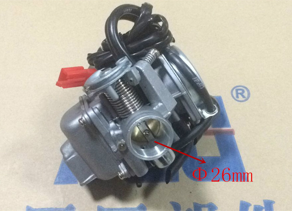 26mm Sunl 150 Carburetor 150cc GY6 Carb 4 Stroke Chinese Scooter Moped 157 NEW(China (Mainland))