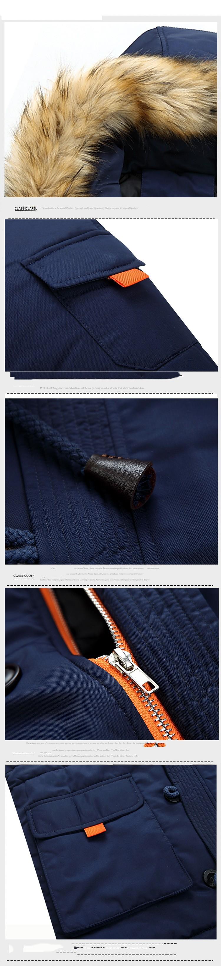 Скидки на Новое Поступление Хорошее Качество Мода, Стиль Мужчины Ветровки Мужчины Топы Теплый Толстый Зимний Повседневная Одежда Hoodied Молния Fly Три Цвета