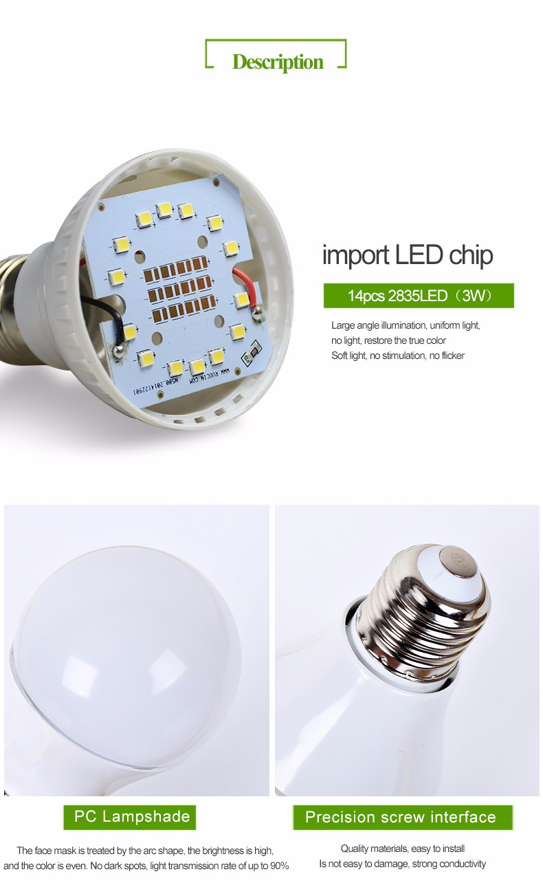 Cheaper High Efficiency Solar Led Light Bulb Outdoor Solar