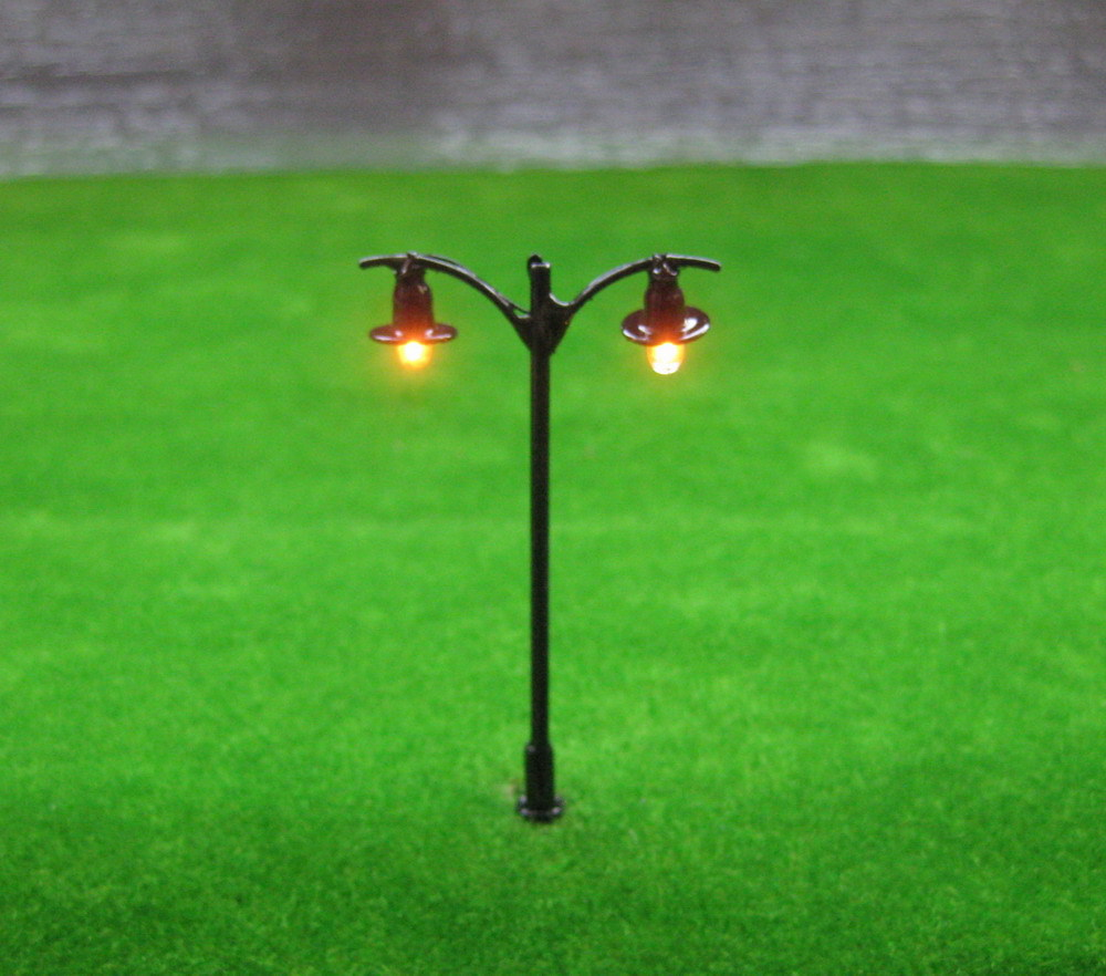 L511 Model Railway Lamppost Lamps Street Lights HO Scale 5.5cm 12V New(China (Mainland))