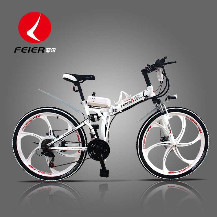 26 -inch 24 -inch folding electric bicycle lithium battery electric car battery car bike MTB(China (Mainland))