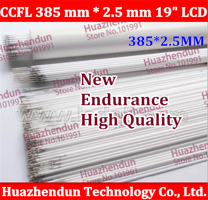 50pcs Hot sale High quality Free shipping  CCFL 385 mm * 2.5 mm 19 LCD Backlight Lamp Hight quality<br><br>Aliexpress