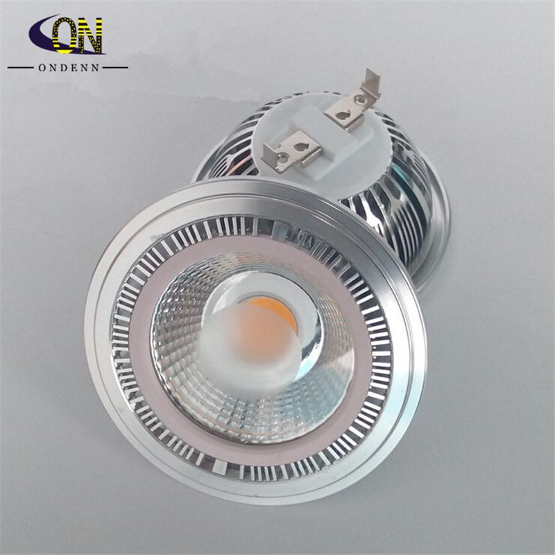Dimmable COB 12W AR111 G53 LED Spotlight bulb Ultra bright High-power 85~265V Spot Lamp Warranty 2 years CE ROHS -free shipping(China (Mainland))