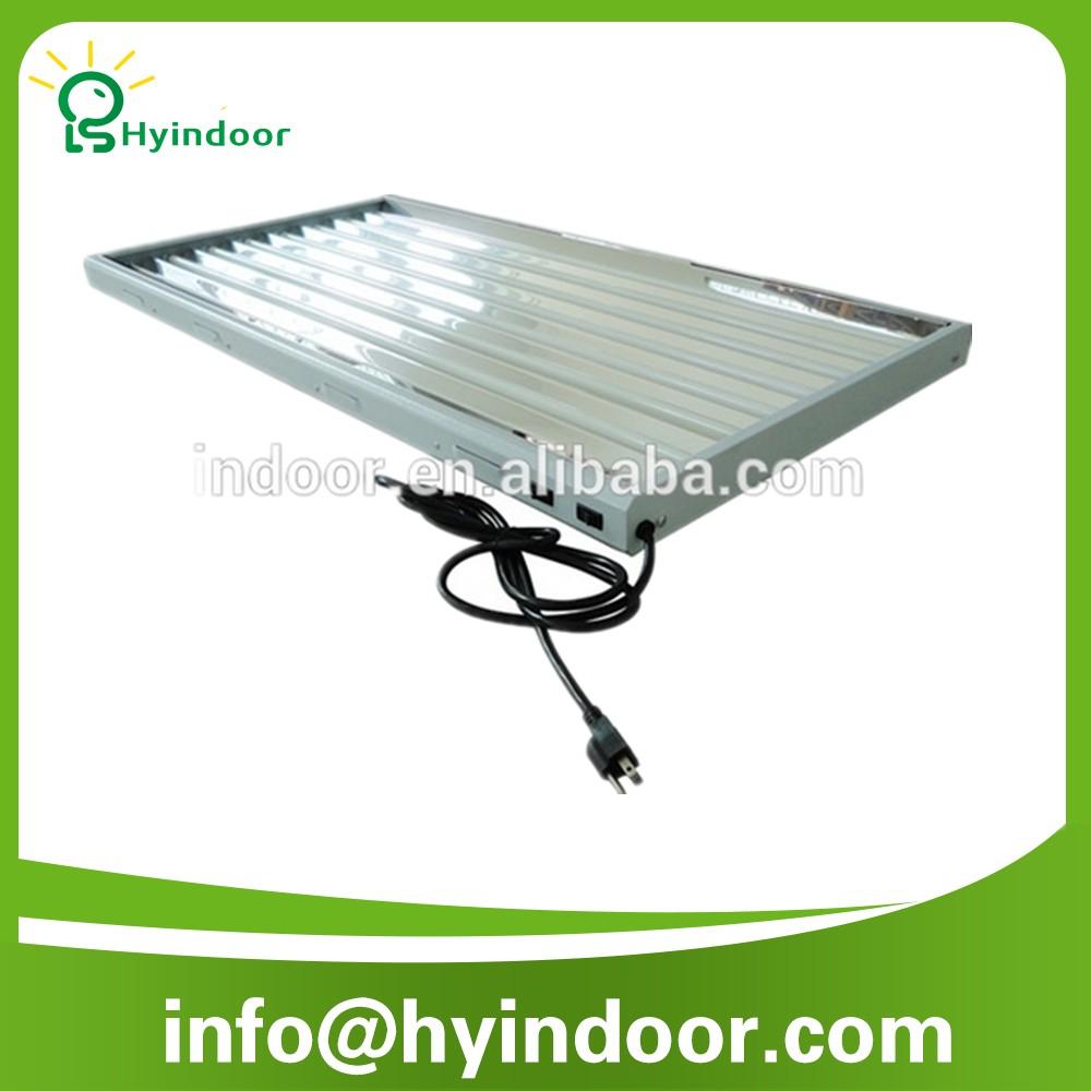 24W*6 T5 Grow Light  Bulb Lamp Fixture Fluorescent with 220V EU plug