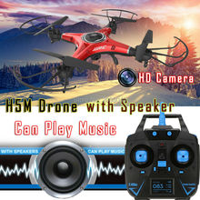 JJRC H5M Music Drones With Camera Hd Quadcopters With Speaker Hexacopter Professional Rc Dron Flying Helicopter Camera Copter