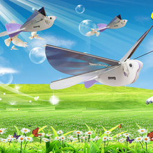 New DIY Electric Toys Birds Super Capacitor Wing Flapping Bird Toy Gift RC Toys For Kids Toy Electronic Pets(China (Mainland))