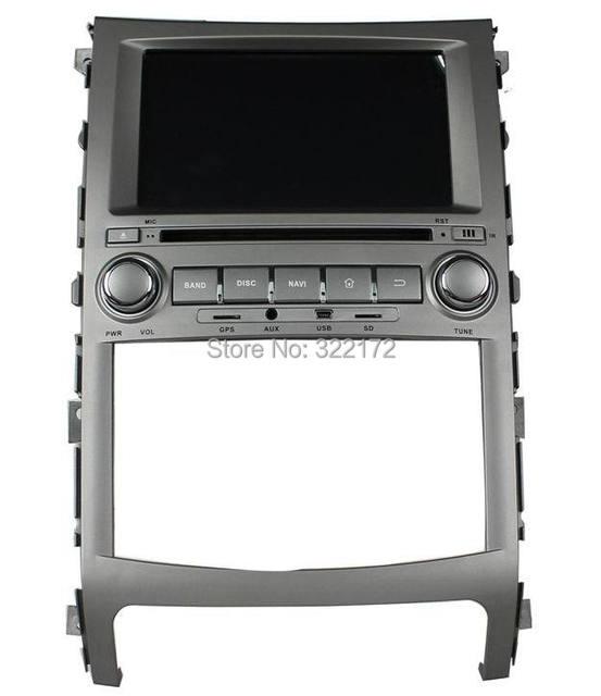 Car Radio Audio DVD Player GPS For HYUNDAI iX55 Veracruze 2006~2011 Free Shipping