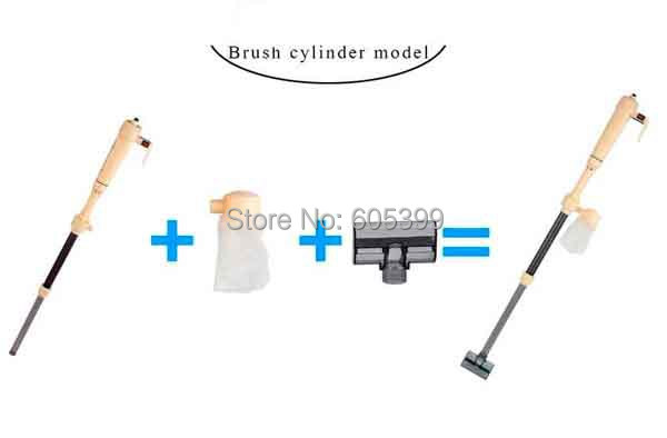 Updated Aquarium Cleaner Syphon,Auto Vacuum Fish Tank Gravel Water Filter Washer,Free shipping
