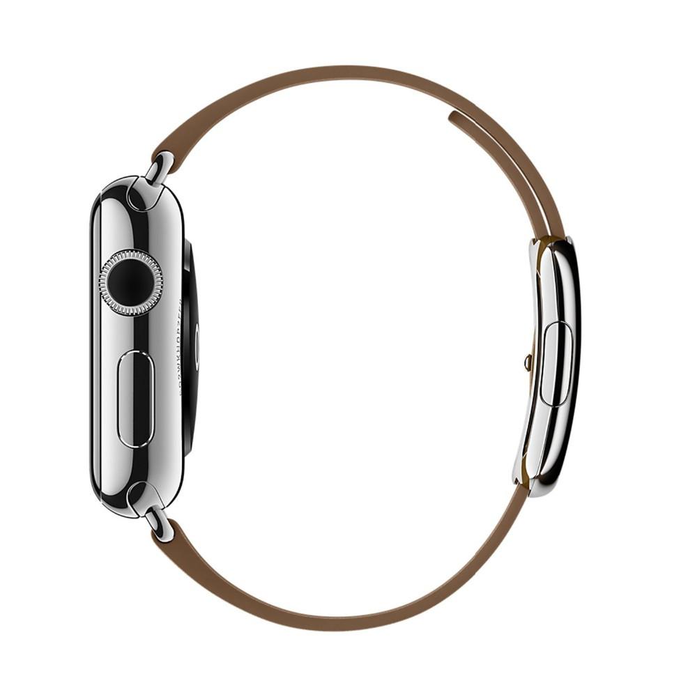 Современные Пряжка Мягкий Кожаный ремешок для Apple watch band 38 мм 42 мм Запястье Браслет Для Apple iWatch с Магнитным закрытие