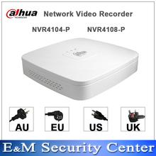 Original version de dahua POE NVR 4 / 8CH 1U 4PoE Network Video Recorder nvr4104 - p p(China (Mainland))