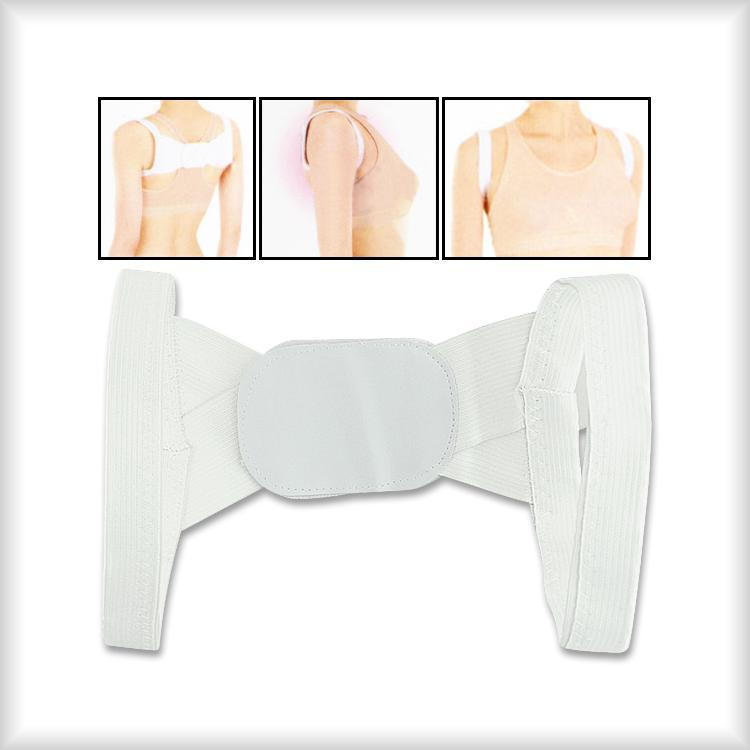 Humpback Correction Belt Japan Popular Body Sculpting Posture Belt Build Perfect Posture White Color Drop shipping(China (Mainland))