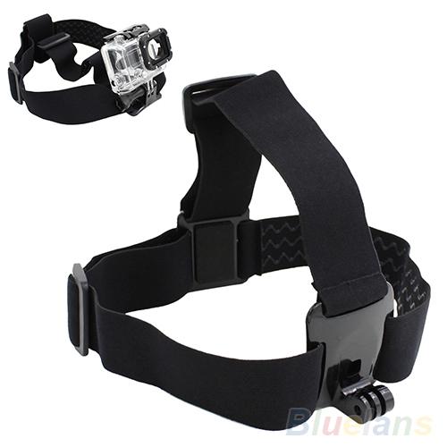 Гаджет  Head Strap Mount Belt Elastic Headband For GoPro GO PRO HD Hero 2/3 Camera  2K5I None Бытовая электроника