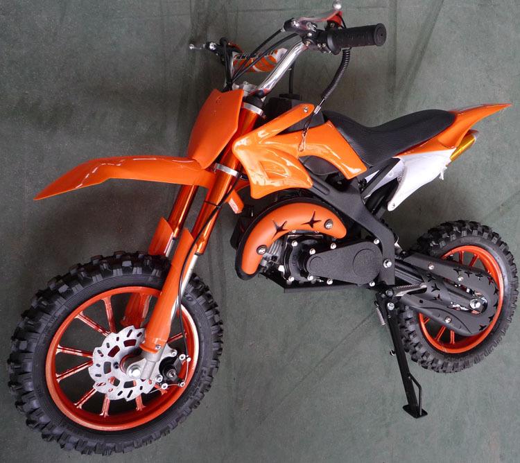 49cc 2-stroke pull start mini dirt bike D49-L(China (Mainland))