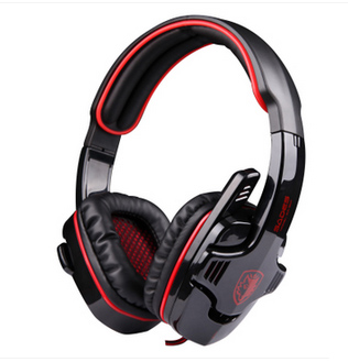 Top Level gaming headset 7.1channel dota2 lol cs game earphones headphone with mic and remote control professional for pc gaming(China (Mainland))