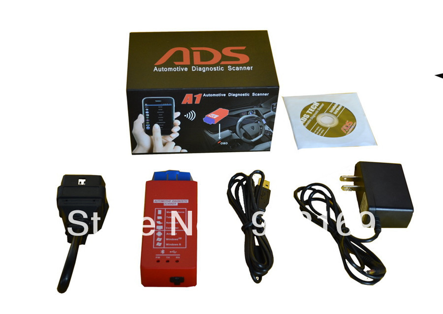 ADS A1 Bluetooth OBDII Scanner Support Android, Windows XP(China (Mainland))