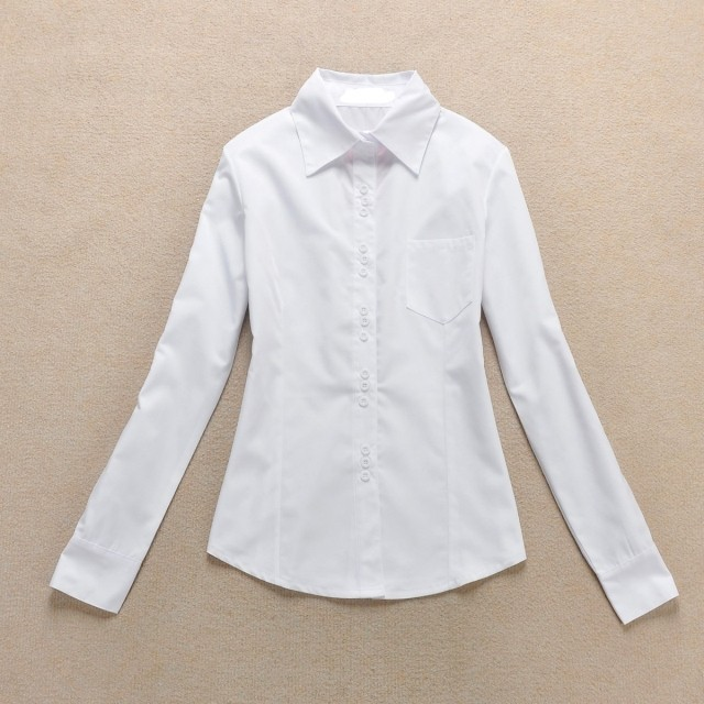 Women shirts for work the image kid has it for White cotton work shirts