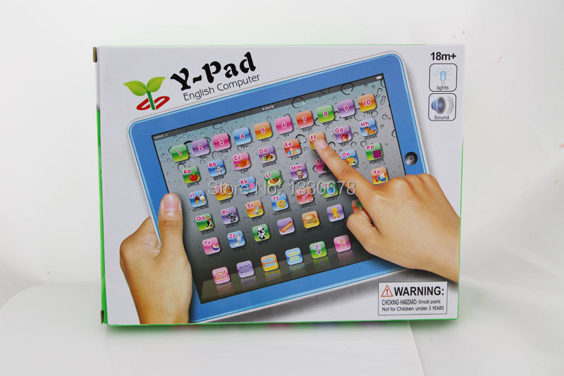 1pc english y-pad learning machine children's computer y pad educational toys kids Learning Machine table toys(China (Mainland))