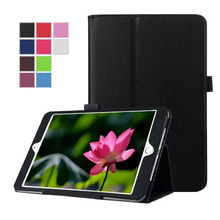 For iPad mini 4 Case New PU Leather Folio Stand Protector Skin Cover For Apple iPad mini4 tablet Cases 10 colors S3D25D
