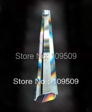 Free Shipping,120pcs/lot 76mm Icicle Crystal Prisms Chandelier Pendant Drop(China (Mainland))