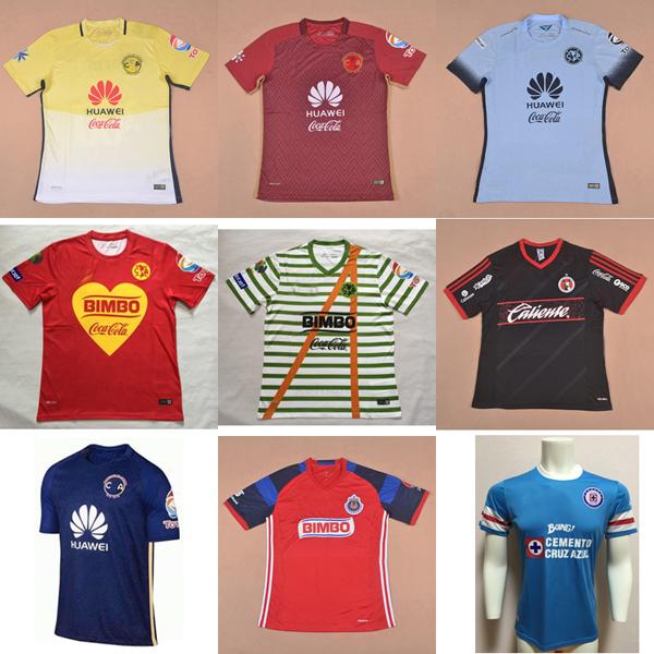 Top thailand 2017 new club merica Centennial maillot de foot 2016 club america red wine commemorate Camiseta de futbol shirt(China (Mainland))