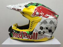 2015 neue Ankunft Motocross Helm Professionelle Red Bull Rally Racing Helm Männer Motorrad Helm Dirt Bike Capacete moto Casco(China (Mainland))