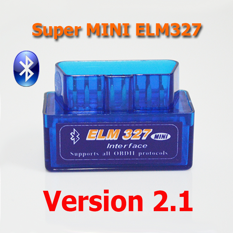 New Super Bluetooth MINI ELM327 V2.1 OBD2 / OBDII ELM 327 for Android Torque Car Code Scanner FREE SHIPPING(China (Mainland))