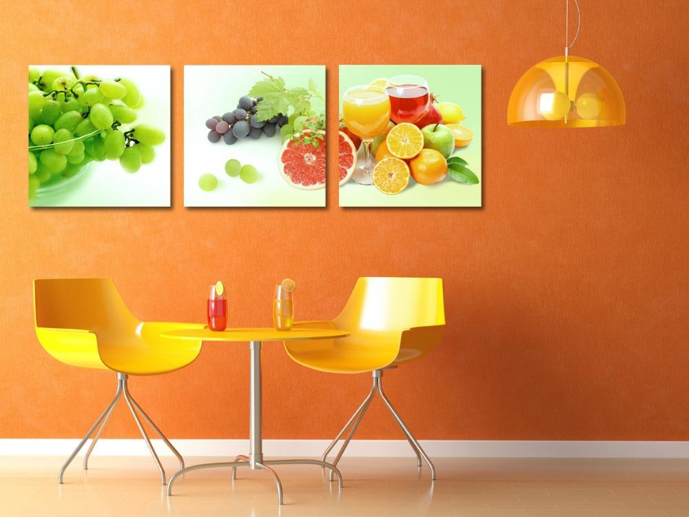 Schilderijen voor keuken for Kunst keuken