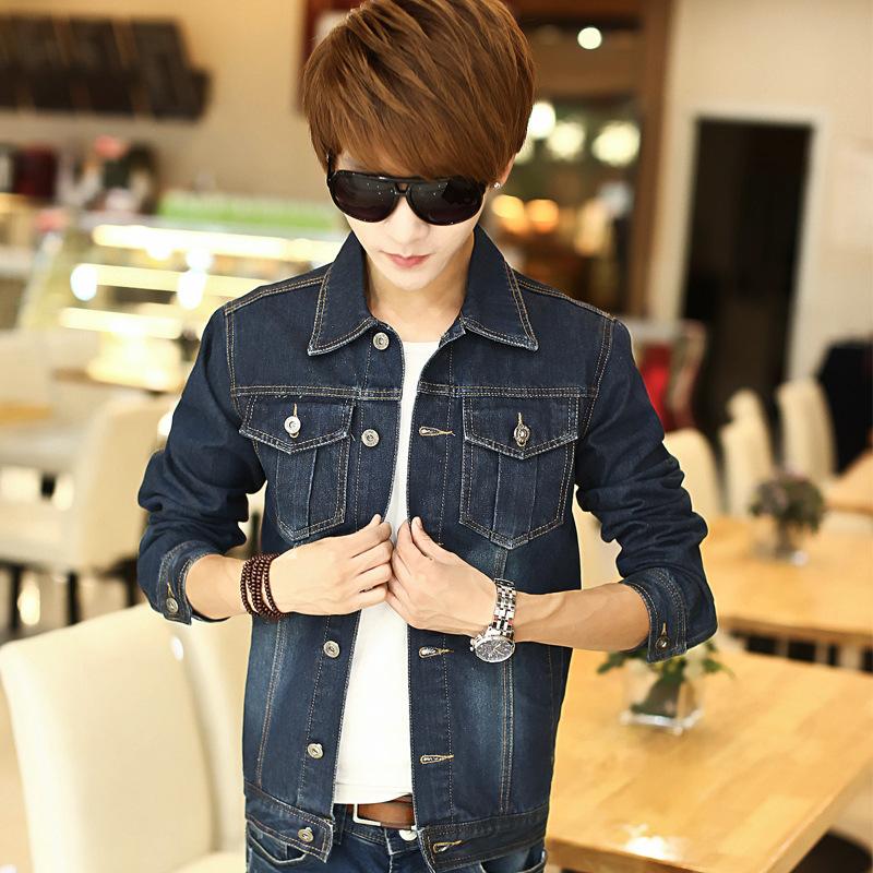 2015 new winter mens denim jacket jeans denim jacket Korean male direct manufacturersОдежда и ак�е��уары<br><br><br>Aliexpress