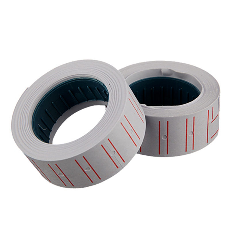 Newest Style Top Selling 10Rolls/lot Blank Price Adhesive Label Paper Tag Mark Sticker Tagging Pricing White(China (Mainland))